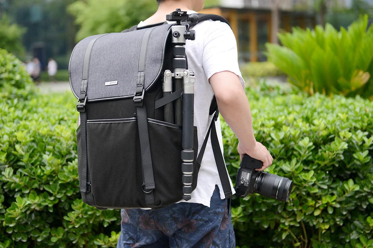 穿梭于城市之间—百诺新行者300N双肩摄影包试用小测
